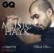 Выступление Music Hayk (Black Star Inc.) @ GQ Bar