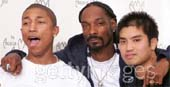 Chad, Pharrell & Snoop Dogg