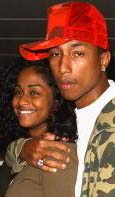 Pharrell & his ex-girlfiend